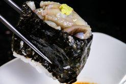 Sashimi Bạch Tuộc Trộn Mù Tạt - octopus tako wasabi