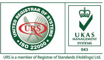 Chứng Chỉ Sashimi Sushi UKAS ISO 22000