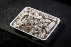 Da Cá Hổi Tẩm Bột Chiên Karaage - Salmon skin with karaage powder