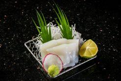 Sashimi Mực Khổng Lồ Cắt Lát - Giant squid sushi