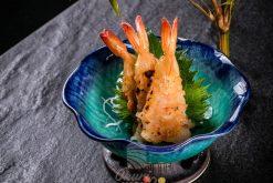 Sashimi Tôm Nướng Trứng Cầu Gai