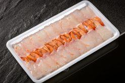 Sashimi Tôm Thẻ Luộc Xẻ Lưng